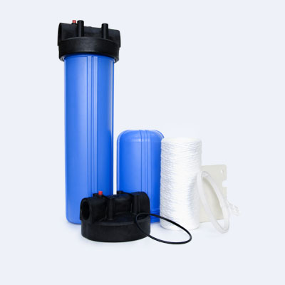 big blue filter housing